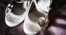 bridal shoes, cheshire wedding photographer, sandhole oak barn