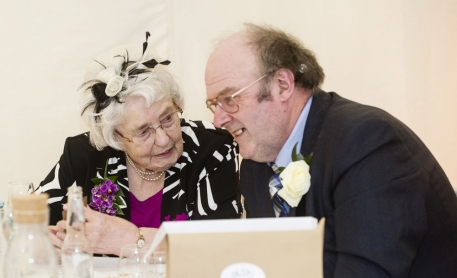 guests talking, cheshire wedding photographer